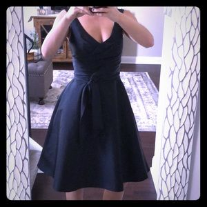 Alfred Sung Black Party Dress